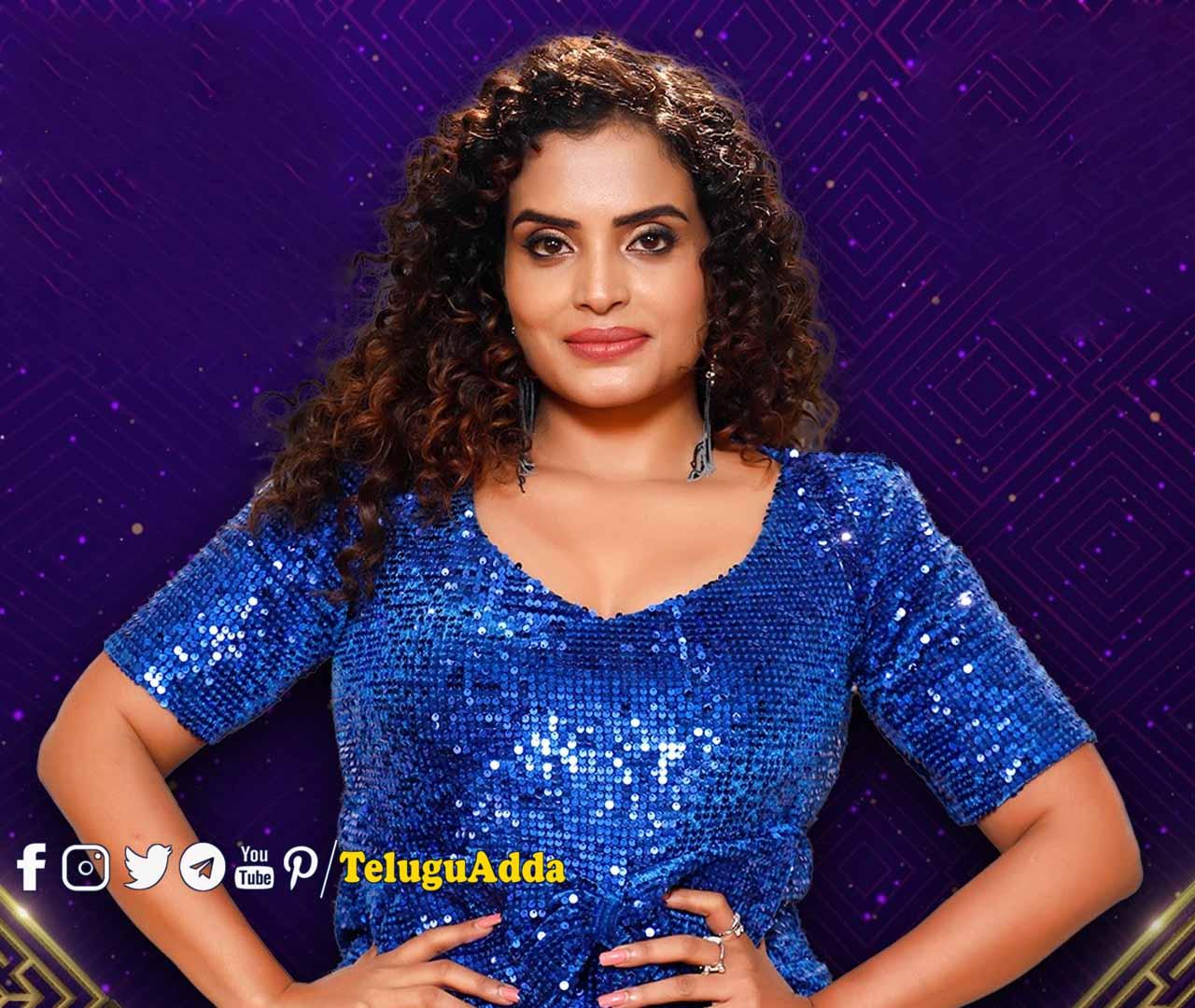 Bigg Boss 5 Telugu 13th contestant sarayu