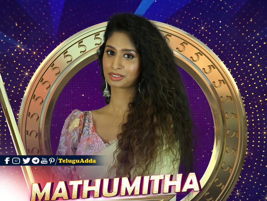 Bigg Boss 5 Tamil 3rd Contestant Mathumitha