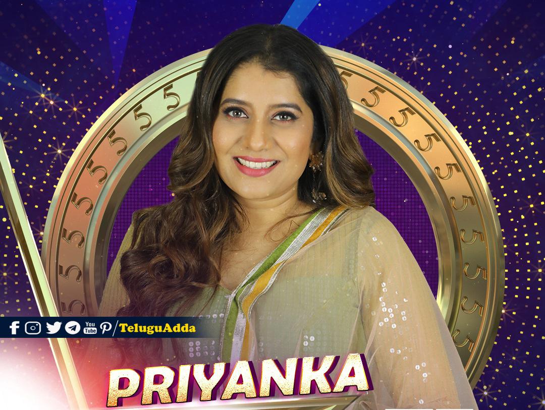 Bigg Boss 5 Tamil 6th Contestant Priyanka
