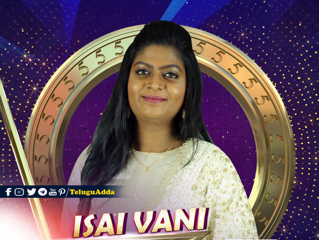 bigg boss 5 tamil Isai Vani
