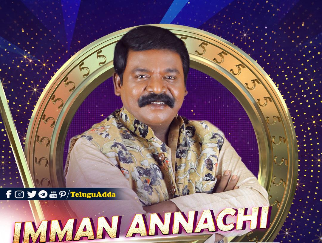 Bigg Boss 5 Tamil 12th Contestant Imman Annachi